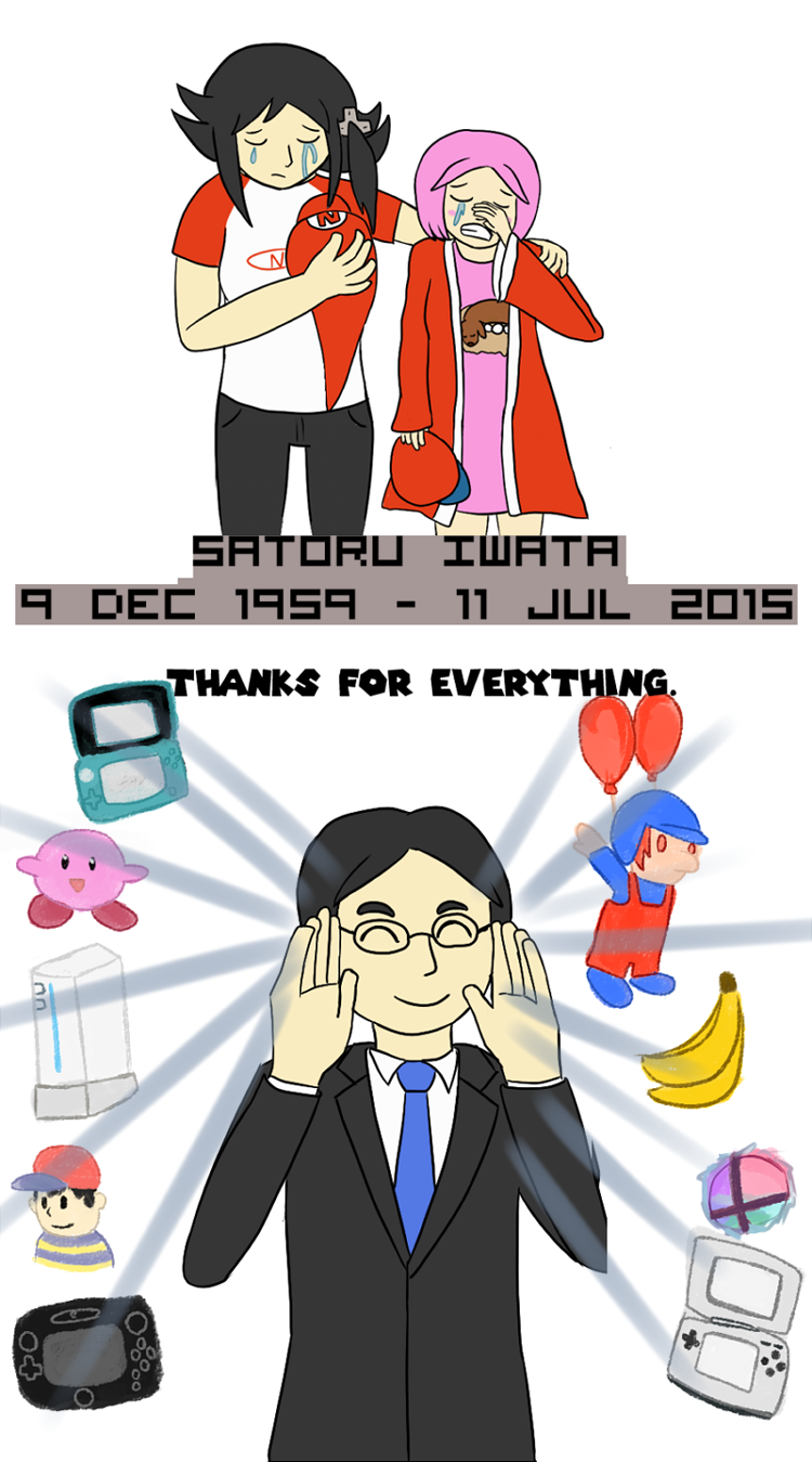 Rest in Peace, Iwata